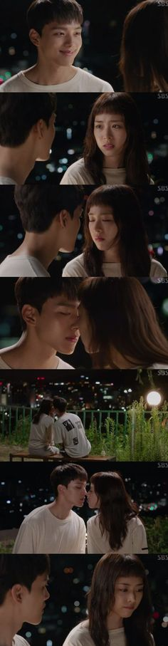 "[Spoiler] ""Reunited Worlds"" Yeo Jin-goo and Lee Yeon-hee's first kiss at last"