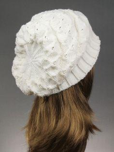 Winter Knit Hat Women's Knit Hat Slouchy Beanie women by VONANA