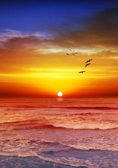 Sunset beach, Victoria, Australia