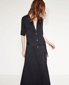 LONG SHIRT DRESS-View All-DRESSES-WOMAN | ZARA United States
