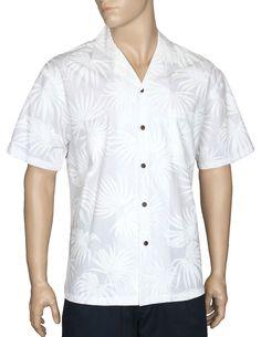 ong Wedding Muu/'Muu White on White Pilialoha Anthuriums Hawaiian Print