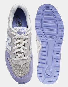 Image 3 ofNew Balance 996 Pastel Grey/Lilac Suede Trainers