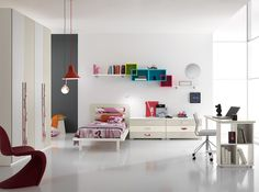 Italian Kids Room Set ONE 601 by Spar Modern Kids Bedroom