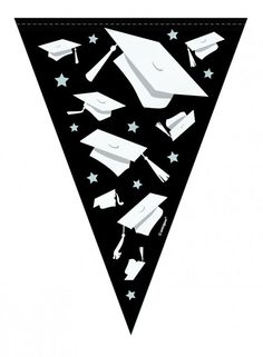 Graduation Party Flag Banner Party Decorations 9 Feet Graduation Party Bunting