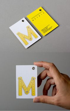 Architect Business Card - great design and branding