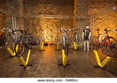 Daccordi pavilion at Florence, bike festival 2013 - Stock Photo