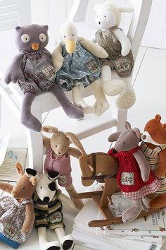 What a sweet little bunch from Moulin Roty