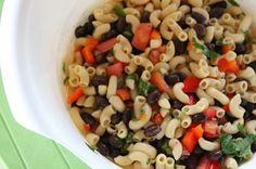 Macaroni and Black Bean Salad - Quick and versatile