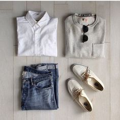 the latest trends in mens fashion and mens clothing styles Men's Fashion, Fashion Outfits, Stylish Men, Men Casual, Estilo Denim, Smart Men, Outfit Grid, Fashion Updates, Casual Street Style