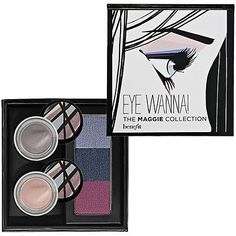 Benefit Cosmetics - Eye Wanna! The Maggie Collection Dramatic Eye Kit: Amazon.co.uk: Beauty