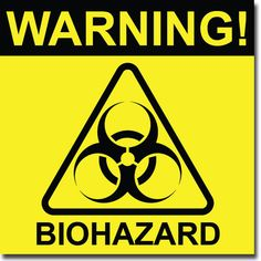 photograph about Biohazard Sign Printable identified as 14 Most straightforward Cleansing caution indications pics inside 2017 Caution