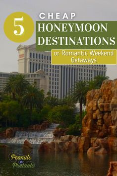 Whether you are married and looking for an inexpensive romantic getaway, or you are a soon-to-be newlywed, check out our top picks for cheap honeymoon destinations here in the US. We chose these destinations because they are perfect for couples with a variety of interests and they are affordable options, especially for people living in different regions who are looking to travel closer to home. Romantic Weekend Getaways, Romantic Getaway, Travel Checklist, Travel Advice, Cheap Honeymoon Destinations, Road Trip Planner, Road Trip Games, Pretzels, Travel Couple