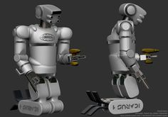 Silverback robot, Jason Falconer, future robot, DARPA, Robotics Challenge program, 2014, robotic, humanoids, Icarus Technology