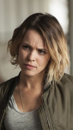 Even with the roots- love her hair! Rachel McAdams True Detective