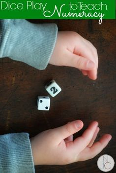 How a simple, child-invented game teaches critical numeracy skills! Perfect for the kids! (I love watching kids learn through play!)