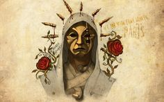 Hollywood Undead Dark Mask Art Rap  #Art #Dark #Hollywood #Mask #Rap #Undead