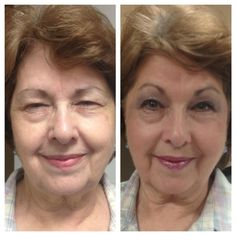 """""""A sweet lady from the bayou state. I used Normal 3n1, Climate Control, Almond Foundation, Pearlizer, Toasted Rose BlushSense.. Several ShadowSense colors, Fire n Ice LipSense with Silver Glitter Gloss, and Auburn BrowSense! She looked 20 years younger! She was so happy with the difference she bought it all! Her husband called later and said he felt like he had a new hot wife!""""- Independent Distributor and Lady Jennifer Rhea"""