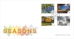 Sepac Stamps 2016 : The Seasons Guernsey FDC