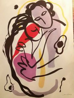 "Marc Klionsky Lithograph "" The Hug"" Signed : Lot 462"