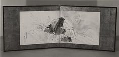 98. Rock and Waves - Maruyama Ōkyo - Edo period (dated 1773)
