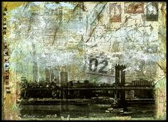 Photo transfer with mixed media   More than Photography