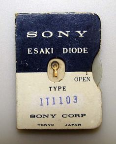SONY Diode
