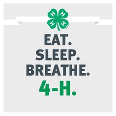 The life of a typical 4-H'er!