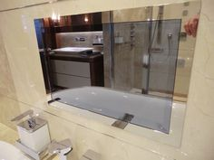 Videotree Waterproof Bathroom TV installed in Sunseeker Princess AVK Yacht