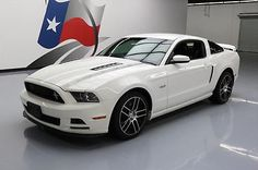 eBay: 2013 Ford Mustang GT Coupe 2-Door 2013 FORD MUSTANG GT PREM C/S 5.0L AUTO HTD LEATHER 65K #241283 Texas Direct #fordmustang #ford