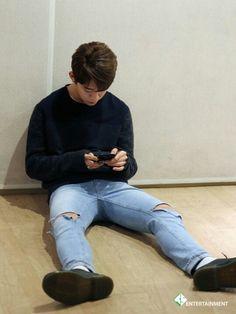 Daehyun in jeans