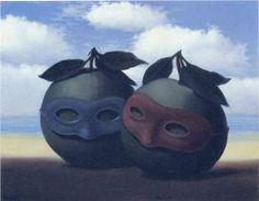 The hesitation waltz - Rene Magritte