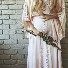 """""""I Believe In Unicorns – Maxi Dress"""" Women's embroidered maxi dress – blush Fillyboo – Boho inspired maternity clothes online, maternity dresses, maternity tops and maternity jeans. - Everythink for Babyshower Maternity Maxi, Maternity Fashion, Bohemian Maternity Dress, Maternity Photoshoot Dress, Maternity Wedding, Maternity Styles, Maternity Swimwear, Casual Maternity, Pregnancy Outfits"""