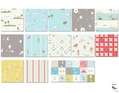 storyboek 2....birch organic fabrics....love all of these! The little sandpipers on the beach is darling!
