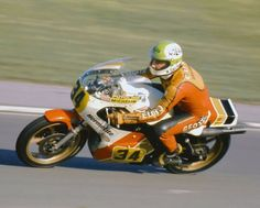 Alex George RG500 Suzuki Brands Hatch 1977