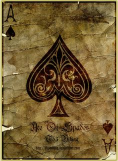 Ace Of Spades by ~Th3Viking on deviantART