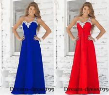 New Long Chiffon Formal Evening Ball Prom Party Gown Bridesmaid Dress Size 4-28