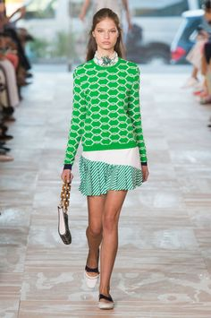 Fashion, Shopping & Style | Tory Burch Crafts a Boho Spring With a Dose of…
