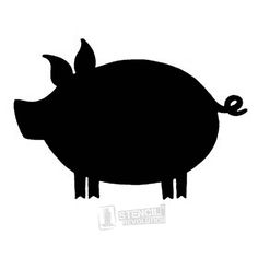 pig stencil