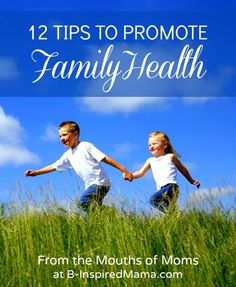 How do you help keep your kids and family healthy and well?  Find simple tips