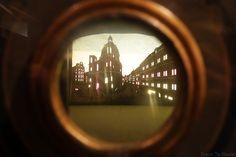 Musée du Cinéma de Turin - boite théâtre optique salle Archéologie Histoire du Cinéma - Mole Antonelliana Museo Nazionale del Cinema Torino