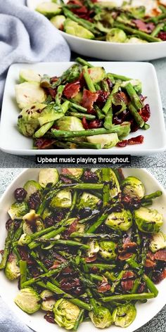 Dinner With Brussel Sprouts, Balsamic Brussel Sprouts, Easy Thanksgiving Sides, Thanksgiving Recipes, Vegetable Dishes, Vegetable Recipes, Bacon Recipes, Cooking Recipes, Balsamic Glaze Recipes
