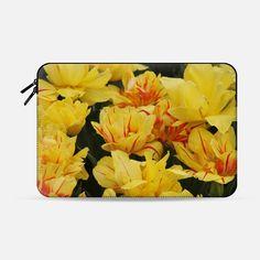 Yellow tulips - Macbook Sleeve