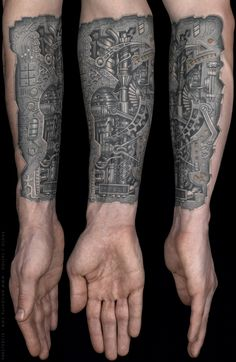 Anil Gupta Biomechanical Tattoo
