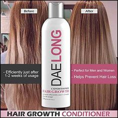 10 Best Rated Hair Growth Conditioners you can try to reverse Hair Loss or Baldness and that works well with Hair Loss Shampoos.