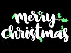 Merry Christmas Typo Animation | AF Templates | videohive