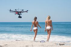 Girls+drones= awesome
