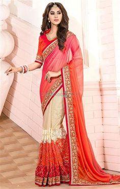 Collar saree blouse designs latest half n half style pearl lace work  #sareeblouse #collar #designersandyou
