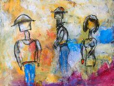 Am See -  Acryl on Canvas
