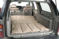 America's leading site for discount Canine Covers Cargo Liner Dog Bed D[PATTERN]BK prices. Authorized dealer and lower price guarantee. Dog In Spanish, Suv Camping, Camping Hacks, Painted Stools, Adirondack Chairs For Sale, Bed Liner, Pallet House, Dog Car Seats, Seat Covers