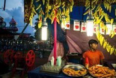 Alex Webb - INDIA. Trikkakra. 2014. Onam Festival, Thrikkakara pooram.